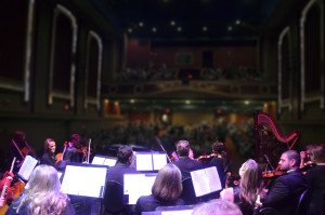 Symphony on stage (Strand Theatre)