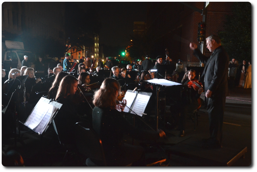 Symphony performs at outside event