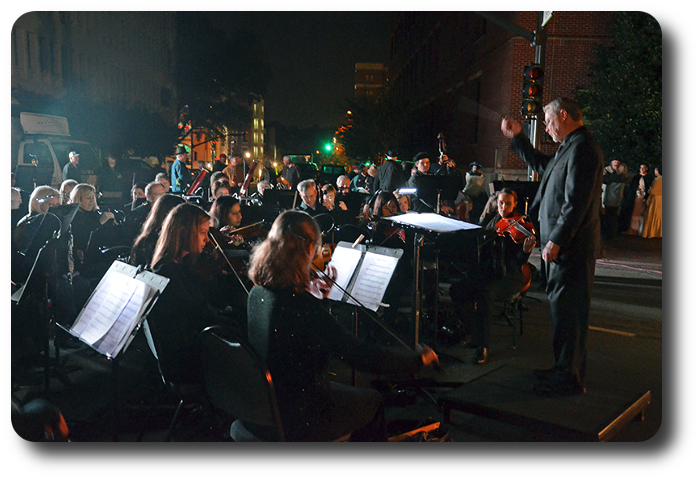 Symphony in concert