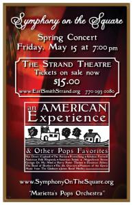 Concert poster - Spring 2015
