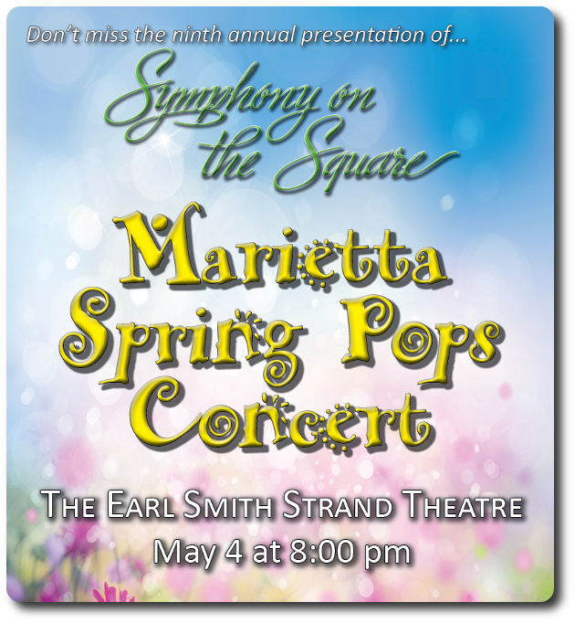 Symphony on the Square Spring Concert of pops favorites